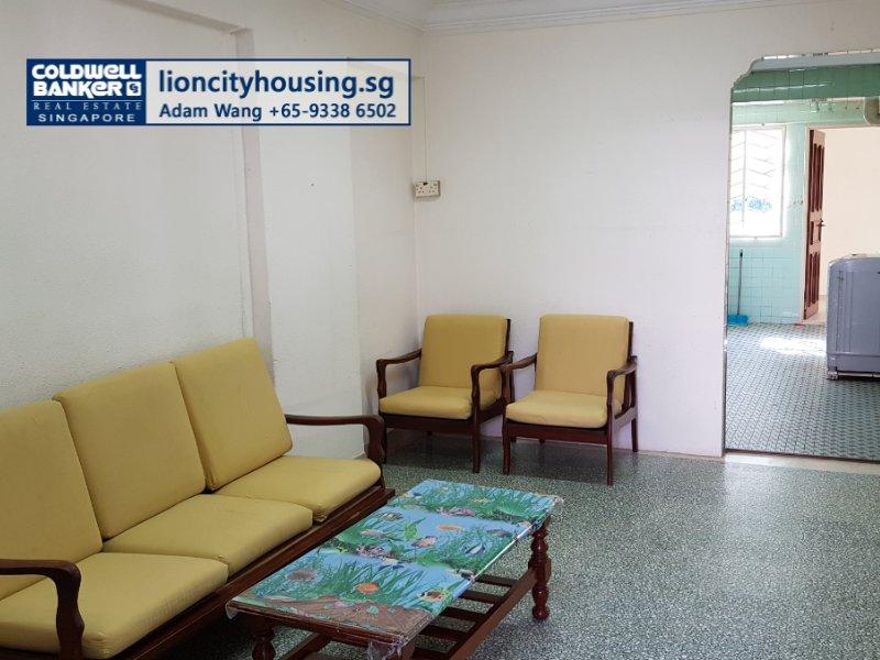 360 Virual Tour for 3 room hdb flat for sale 2 bedrooms 330034 d12 sgla28566535